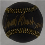 Johnny Bench Autographed Limited Edition Black Baseball