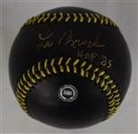 Lou Brock Autographed Limited Edition Black Baseball