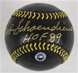 Red Schoendienst Autographed Limited Edition Black Baseball