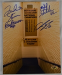 Notre Dame Autographed 8x10 Tunnel Photo