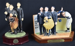 Umpire Collection of 2 Porcelain Figurines