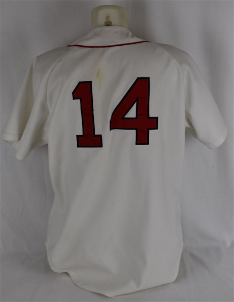 Jim Rice Boston Red Sox 1989 Game Used Jersey w/Dave Miedema LOA
