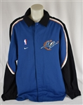 Nike 2002-03 Washington Wizards Game Used Warm-Up Attributed to Michael Jordan