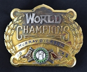 Murry Dickson 1942 Cardinals World Series Champions Belt Buckle