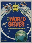 Los Angeles Dodgers vs. Minnesota Twins World Series 1965 Program EX/MT