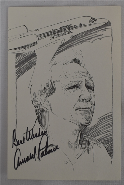 Arnold Palmer Lot of 3 Autographed Items