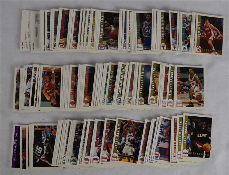NBA Hoops 1992-93 Complete Set w/Shaq  	Rookie Card