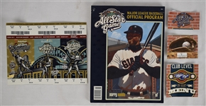 Milwaukee 2002 All-Star Game Unused Tickets