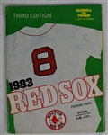 Boston Red Sox 1983 Official Game Day Program