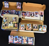 Collection of 5 Baseball Card Sets