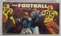 Vintage 1966 Pro Football Game