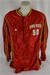 Iowa State Cyclones #50 Game Used Basketball Warm-Up