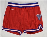 Lot of 2 Basketball Worn Shorts