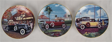 Vintage Automobile Collector Plates