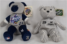 Darryl Strawberry 1998 Bamm Beano & Paul O'Neil 1999 World Series Beanie Baby