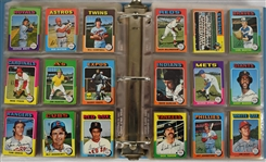Vintage 1975 Topps Mini Baseball Card Set NM/MT w/George Brett & Robin Yount RCs