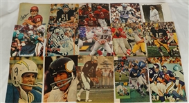 NFL Collection of 48 Autographed Photos
