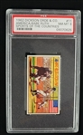 "Babe Ruth 1962 Dickson Orde & Co. ""Sports of the Countries"" Card #11 PSA 8 NM-MT"