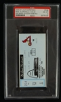 Ken Griffey Jr. 500th Career Home Run Ticket PSA 8 NM-MT