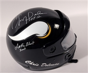 Chris Doleman Unique 2007 Arctic Blast Minnesota Vikings Snowmobile Helmet