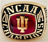 Indiana Hoosiers 2004 Soccer National Champions 10k Gold Ring