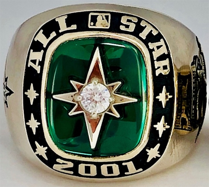 Seattle 2001 MLB All-Star Players Game Ring w/Original Jostens Box