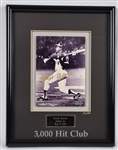 Hank Aaron Autographed Limited Edition Framed Display UDA