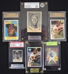 Hank Aaron Graded Card Collection