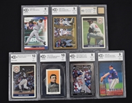 Lot of 7 BCCG Graded Cards