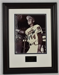 Hank Aaron Autographed 8x10 Framed Photo