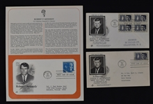 Collection of First Day Covers w/JFK & RFK