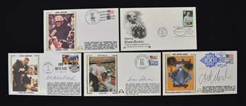 NFL Lot of 3 Autographed First Day Covers