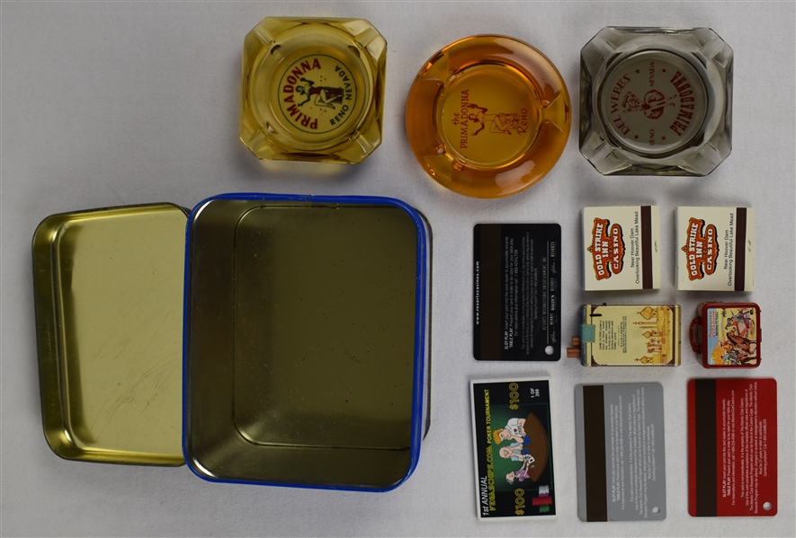 Las Vegas Collection w/Crest Tin
