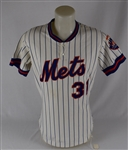 Roy Lee Jackson 1978 New York Mets Game Used Jersey