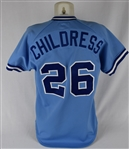 Chip Childress 1985 Atlanta Braves Game Used Jersey