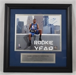 Karl Anthony Towns Autographed Framed Display