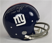 Frank Gifford Autographed New York Giants Full Size Helmet