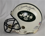 Curtis Martin Autographed New York Jets Full Size Helmet