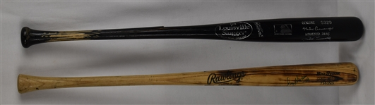 Minnesota Twins Lot of 2 Game Used Bats