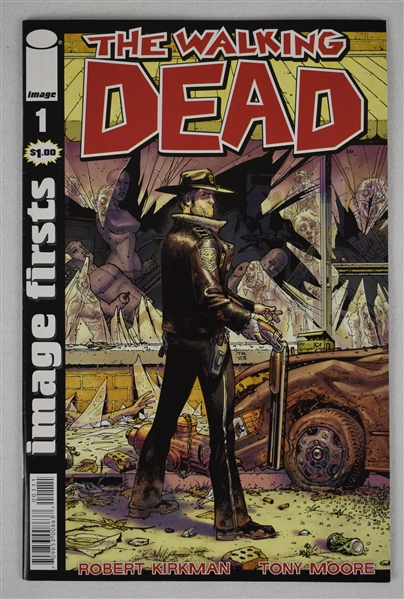 The Walking Dead Comic Book Issue Number 1
