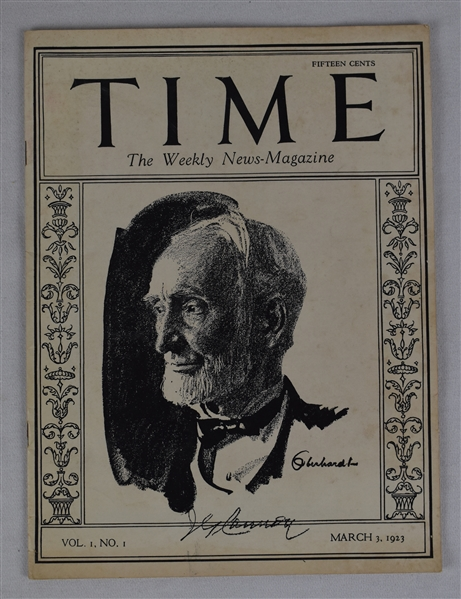 Vintage 1923 Time Magazine Issue Number 1