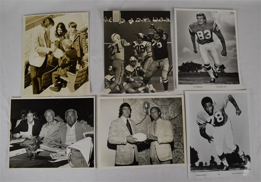 Vintage Collection of NFL Football Photos