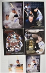Minnesota Twins Lot of 6 Autographed Photos w/Blyleven & Molitor