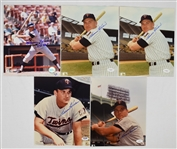 Harmon Killebrew Lot of 5 Autographed 8x10 Photos