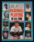 Greatest Baseball Players of All Time Book w/93 Signatures