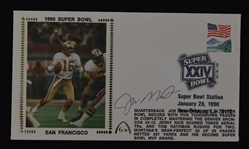 Joe Montana Super Bowl XXIV Autographed First Day Cover