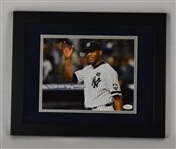 Mariano Rivera Autographed & Framed 8x10 Photo