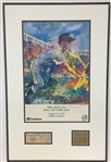 Phil Rizzuto Autographed & Inscribed LeRoy Nieman Framed Poster
