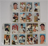 Vintage 1964 Topps Giants Complete Set (60) w/Mickey Mantle & Willie Mays