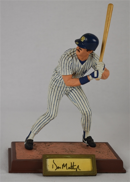 Don Mattingly Autographed Limited Edition Sports Impressions Figurine